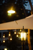 Im Freienbeleuchtung Stockfoto