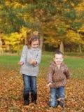Im Freienkinder Lizenzfreie Stockbilder