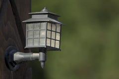 Im Freienlampe Stockbild