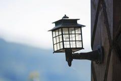 Im Freienlampe Stockbilder