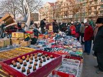Im Freienmarkt Lizenzfreie Stockfotos