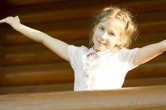 Im Freienportrait des Mädchens Lizenzfreie Stockfotografie