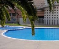 Im FreienSwimmingpool Stockfoto