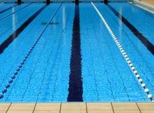 Im FreienSwimmingpool Stockbild