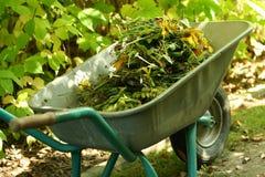 Im Garten arbeitendes organisches Material Lizenzfreies Stockbild