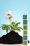 Im Garten arbeitenkonzept! Lizenzfreies Stockfoto