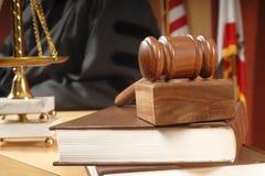 Im Gericht Lizenzfreies Stockbild