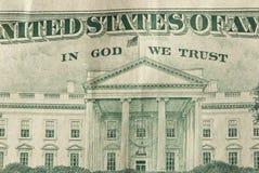 Im Gott vertrauen wir Stockfotos