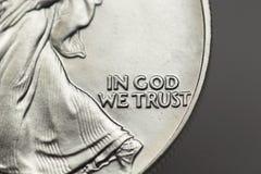 Im Gott vertrauen wir Lizenzfreies Stockbild