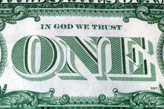 Im Gott vertrauen wir Lizenzfreies Stockfoto