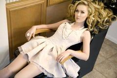 Im Haar-Salon Stockfoto