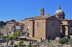 Im Herzen von Rom Stockbild