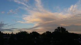 Im Himmel Stockfotografie