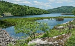 Im Hinterland New- Yorkreservoir Stockfotos