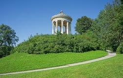 Im historischen Park von München im Bayern Stockfotografie