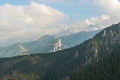 Im hohen Berg lizenzfreies stockbild