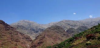 Im Horizont des Atlas-Berges stockfotos