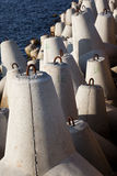 Im Jachthafen Lizenzfreie Stockfotos