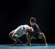 Im Leben und im Tod-modernen Tanz Lizenzfreies Stockbild