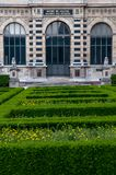 Im Louvregarten stockfotografie