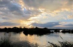 Im Mekong Stockbild