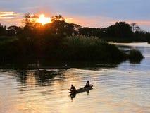 Im Mekong Lizenzfreies Stockbild