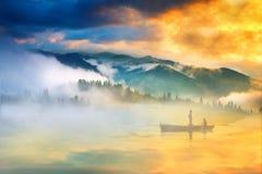 Im Nebel Stockfotografie