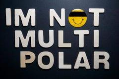 Im niet multi polair stock foto's