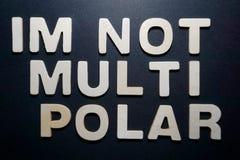 Im niet multi polair stock afbeelding