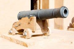 im Oman-Muskatellertraubenschloss und Lizenzfreie Stockfotos