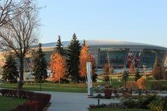 Im Park nahe der Donbass Arena lizenzfreie stockbilder