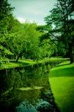 Im Park von Rotterdam Lizenzfreie Stockfotos