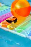 Im Pool. stockfoto