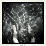 Im Pool Lizenzfreies Stockfoto