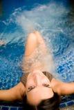 Im Pool Lizenzfreie Stockfotografie