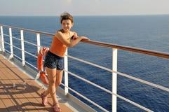 Im Reiseflug Lizenzfreies Stockfoto