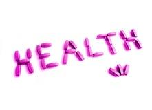 Im Rosa der Gesundheit lizenzfreie stockbilder
