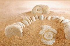 Im Sand Lizenzfreies Stockbild
