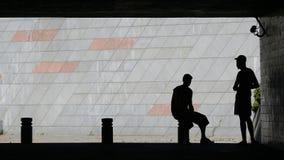 Im Schatten Stockfotografie