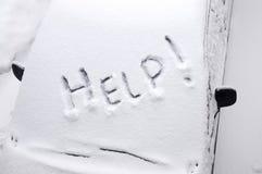 Im Schnee zu einer Gefangenschaft I. stockfotos