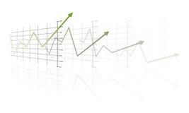 Im Schrittmodus Erfolg Lizenzfreie Stockfotos