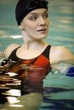 Im Schwimmbad Lizenzfreies Stockfoto
