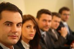 Im Sitzungssaal Lizenzfreie Stockfotografie