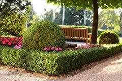Im Stadtpark Stockbild