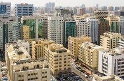 Im Stadtzentrum gelegene Abu Dhabi Stockfoto