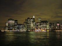 Im Stadtzentrum gelegene Ansicht 2004 Manhattans lizenzfreies stockbild
