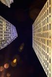 Im Stadtzentrum gelegene Architektur Miamis Lizenzfreies Stockfoto
