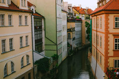 Im Stadtzentrum gelegene Architektur Prags Lizenzfreie Stockfotografie