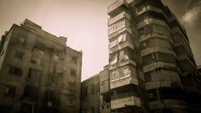 Im Stadtzentrum gelegene Beirut-Wohnungen Stockfotos
