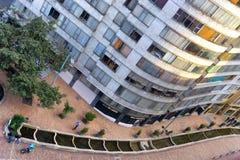 Im Stadtzentrum gelegene Bogota-Ansicht Stockbilder